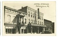 RPPC Hotel Sterner SELINSGROVE PA Snyder County Pennsylvania Real Photo Postcard