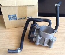 """Subaru OEM P#16112AA410""~Throttle Body W/Hoses & Mounting Bolts~""Good Used Cond"