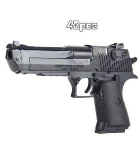 Kids DIY Boy Gun Model Rifle Assembled Building Block Toy Gun Combination Pistol
