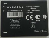 NEW OEM Alcatel One Touch OT-990A OT-908 battery 1300 mAh CAB31P0000C1