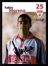 Fabio Morena Autogrammkarte VFB Stuttgart 2001/02 Original Signiert + 83653