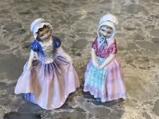 "Vintage Royal Doulton Figurines ""Dinky Do� Hn1678 & ""Tootles"" Hn1680"