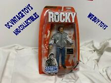 2007 Jakks FRANK STALLONE Action Figure Best Of Rocky Series 1 Corner Singer MIP