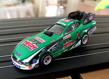 "AutoWorld NHRA ""Rare"" John Force Castrol High Mileage Mustang FC Set Car/NOS/FS!"