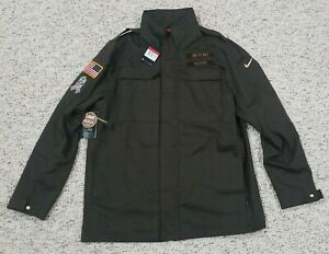 Nike Salute To Service NFL Green Bay Packers Jacket Mens Size Large AT7705-237