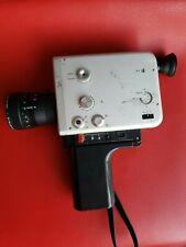 Braun Nizo S 480 film cine MOVIE camera Super 8 mm VARIABLE SHUTTER Time Lapse