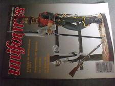 $$r Revue uniformes N°126 Armée du Wurttemberg  Gaugameles  Zoulous  II Hussards
