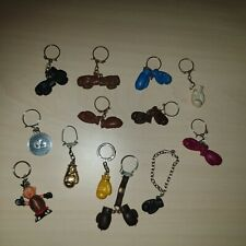 JOB LOT Collection Vintage BOXING Keyrings Keychains 1960s Box