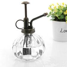 Vintage Plant Flower Watering Pot Glass Spray Bottle Garden Mister Sprayer Pot
