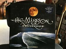 """The Mission – Deliverance  Vinyl 10""""  Gatefold sleeve with 8-page tour booklet"""