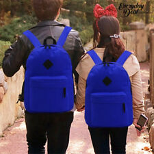 Everyday Deal Couple Trendy Bag Lovers Travel School Backpack 167 (Blue)