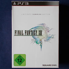 Ps3-Playstation ► Final Fantasy XIII-limited collector's Edition ◄ RAR | TOP