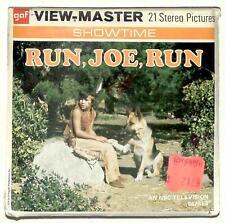 SEALED 1974 vintage GAF view master RUN JOE RUN reel set German Shepherd NBC TV