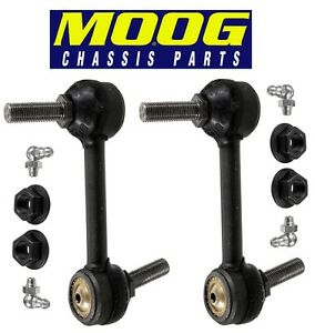 For Lincoln Ford Edge Pair Set of Front Left & Right Stabilizer Bar Links MOOG