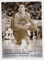 2014-15 Upper Deck March Madness Collection Sepia #SC2 Stephen Curry SP - NM-MT
