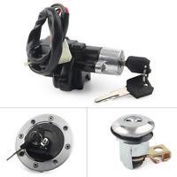 Ignition Switch Gas Cap Seat Lock Key For Suzuki GS500 2001-2002 SV650 1999-02