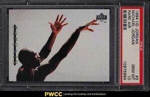 1994 Upper Deck MJ Rare Air Michael Jordan #3 PSA 10 GEM MINT