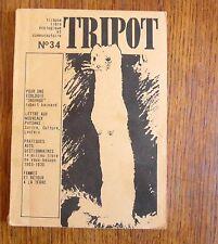 TRIPOT N°34 Revue alternative et écologiste
