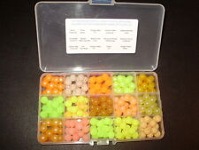 15 Color REGIONAL 10mm Steelhead Beads-SALMON RIVER BOX FREE BEADS INC! $12.75!