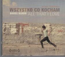 WSZYSTKO CO KOCHAM - DANIEL BLOOM ALL THAT I LOVE CD+DVD OOP OST POLAND POLONIA