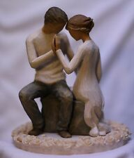 Around You NEW couple In Love Man and Woman WEDDING CAKE TOPPER lovers flowers
