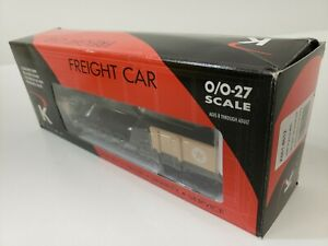 K-LINE ARMY FLAT CAR W/ DIECAST W/ PAINTED FIGURES K661-8012 O GAUGE NEW IN BOX