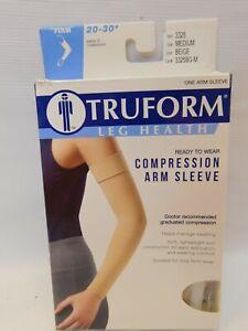 Truform Compresssion Arm Sleeve 20-30mm Medium Beige 3325 Original Package