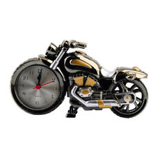 Table Decoration Desk Clock Cool Motorcycle Motorbike Design Alarm Clock