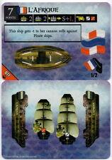 Wizkids Pirates Pocketmodel - L'Afrique (ship) PatOE 077 C