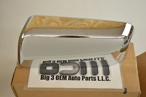 2007-2008 Ford F-150 Lincoln Mark LT LH Side Chrome Mirror Housing Cap new OEM