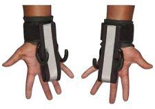 HAULIN HOOKS 'PROFESSIONAL' Weightlifting Hooks & Straps (Pair), M-X