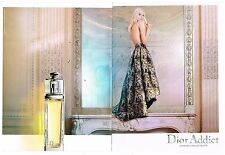 Publicité Advertising 2014 (2 pages) Eau de Toilette Dior Addict
