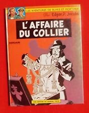 JACOBS. L'Affaire du Collier. Blake et Mortimer - Dargaud 1967. EO.