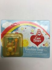 "1984 Care Bears ""Funshine Bear"" Ready To Lead The Parade In Box By Kenner"