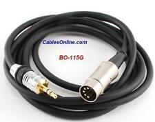 15ft iPod/MP3/PC to BO, Naim, Quad Audio Cable, BO-115G