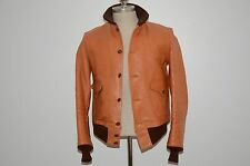 Freewheelers Made in Japan Leather A-1 Flight Bomber Jacket S M 40