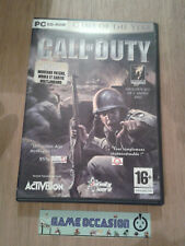 COD CALL OF DUTY GAME OF THE YEAR EDITION PC CD-ROM COMPLET