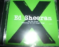 Ed Sheeran X (Australia) (Ft Sing Thinking Out Loud & Photograph) CD - New