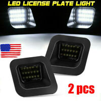 New Smoked LED License Plate Light Lamp For 2003-2018 Dodge Ram 1500 2500 3500