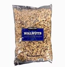 Kirkland Signature Walnuts Shelled 3 lb Bag (48 Oz ) Free Expedited Shipping