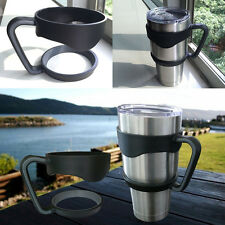 Handle For 30 Oz RTIC YETI OZARK Rambler Tumbler Cup Holder Travel Black NEW