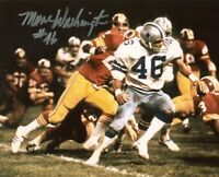 Mark Washington Autographed Signed 8x10 Photo ( Cowboys ) REPRINT