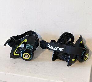 Razor Jetts Trainer Heel Wheels, roller skates age 8+ (green/black)