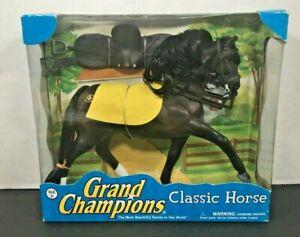 Rare Vintage Grand Champions CLASSIC HORSE - Shadow Friesian Horse NIB 2007