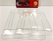 5 Box Protectors For JAPANESE GAME BOY ADVANCE  Clear Cases Boxes Nintendo GBA