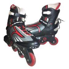 Airwalk Aggressive Inline Street Skates Men Sz12 RollerBlade Freestyle Aw02042Te