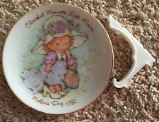 Avon 1981 Cherished Moments Last Forever Collectors Plate Mother's Day