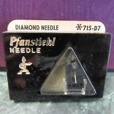 NOS Pfanstiehl Replacement Needle 715-D7 Fisher, Sanyo ST-100D, MG-100 NOS