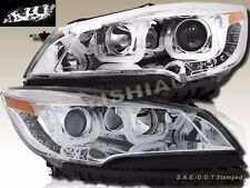 13 14 15 Ford Escape LED U Bar Style Chrome Projector Headlights Pair