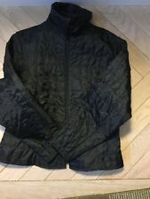 ANNE FONTAINE Black Lightweight Quilted Casual Jacket Coat Sz:4/L